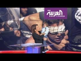 ابن المذيعة نادين خماش يقتحم نشرة الخامسة