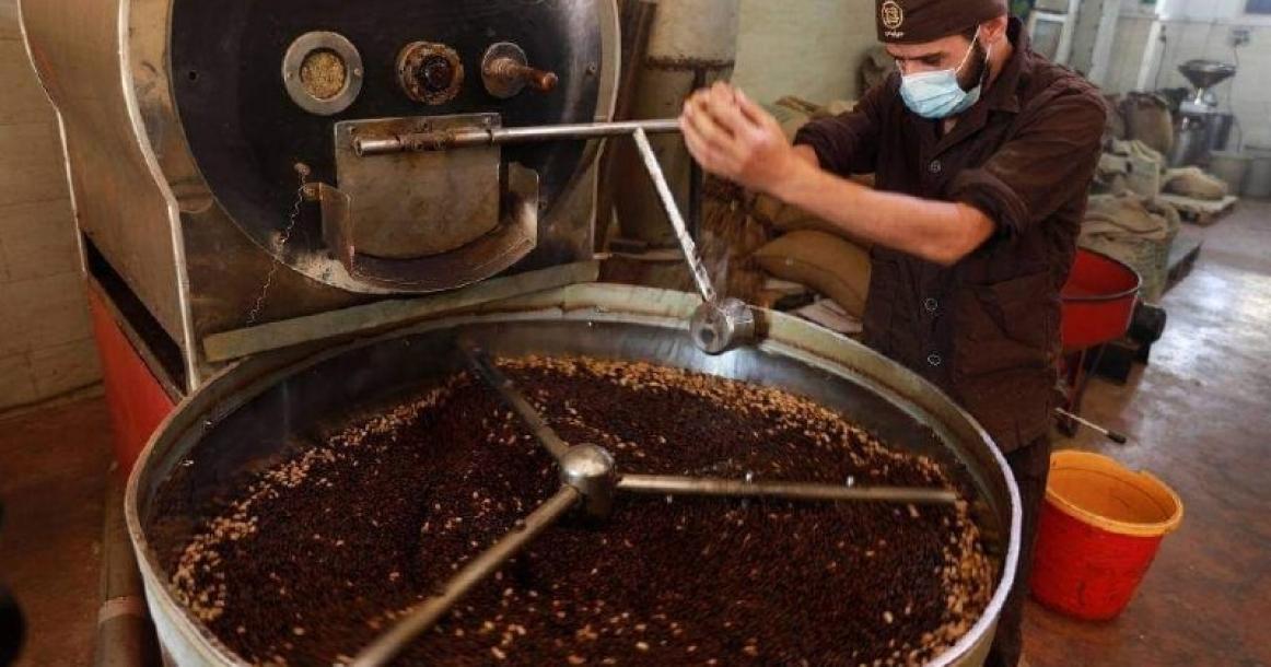 مصانع القهوة في قطاع غزة