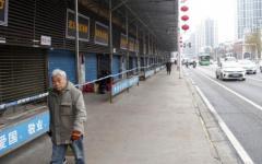 رصيف يبتلع المارة في الصين
