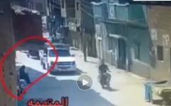 وسائل الإعلام المصرية تنشر فيديو للحظة استدراج مسنة في الشارع وقتلها
