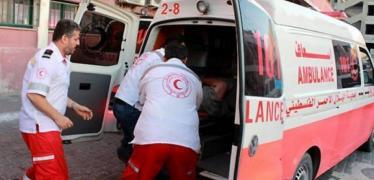 إصابة طفل بحادث سير غرب غزة