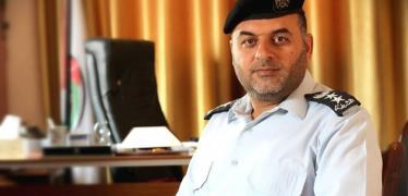 المتحدث باسم الشرطة أيمن البطنيجي