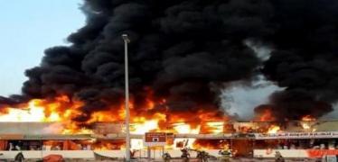 الإمارات تكشف عن السبب وراء حريق عجمان
