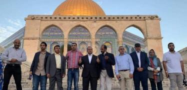 """""""القدس الدولية"""" تحذر من اتفاق رباعي يهدف إلى حماية المطبّعين المقتحمين للأقصى"""