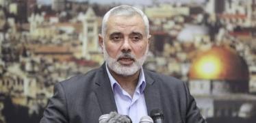هنيـ ـة يهاتف الرئيس العراقي ويضعه في تطورات الأوضاع بالقدس وغزة
