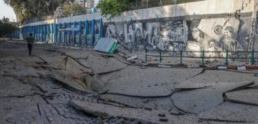 دمار هائل في البنية التحية بعد قصف الاحتلال لأحياء مدينة غزة