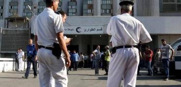 عناصر من الشرطة المصرية في لقطة أرشيفية