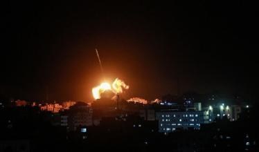 حماس تعقب على قصف الاحتلال لمواقع المقاومة في غزة