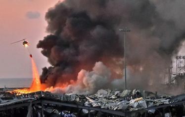 أسفر انفجار مرفأ بيروت لمقتل العشرات وإصابة الآلاف وتشريد مئات الآلاف