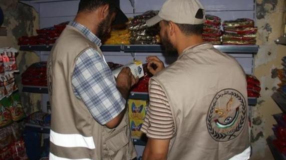 ملحث التموين بخانيونس تضبط أغذية فاسدة خلال رمضان والعيد