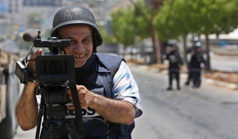 """الصحفي إياد حمد مصور وكالة """"Ap"""" الأمريكية يدفع الثمن غاليا..."""