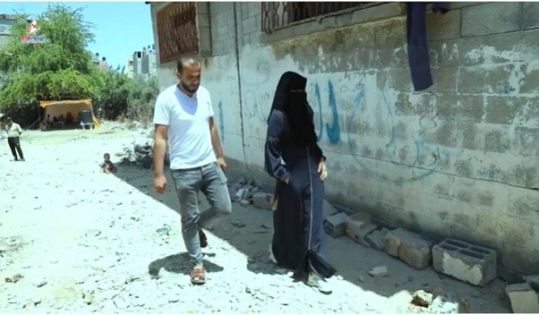 صواريخ الاحتلال تدمر فرحة العمر للعريس رامي السكني من غزة
