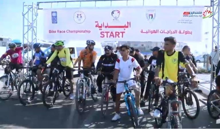 بطولة للدراجات الهوائية للأشخاص ذوي الإعاقة في غزة