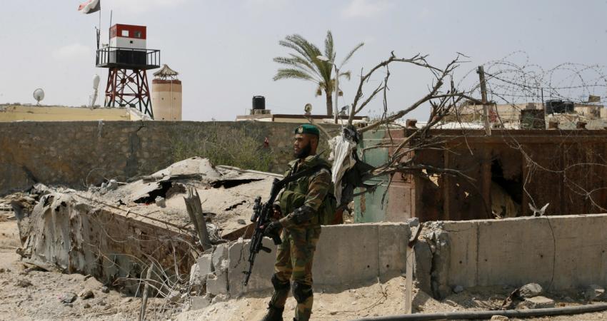 إصابة فتاة فلسطينية برصاص الجيش المصري برفح