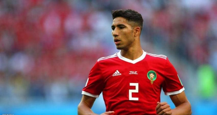 حكيمي من نجوم منتخب المغرب