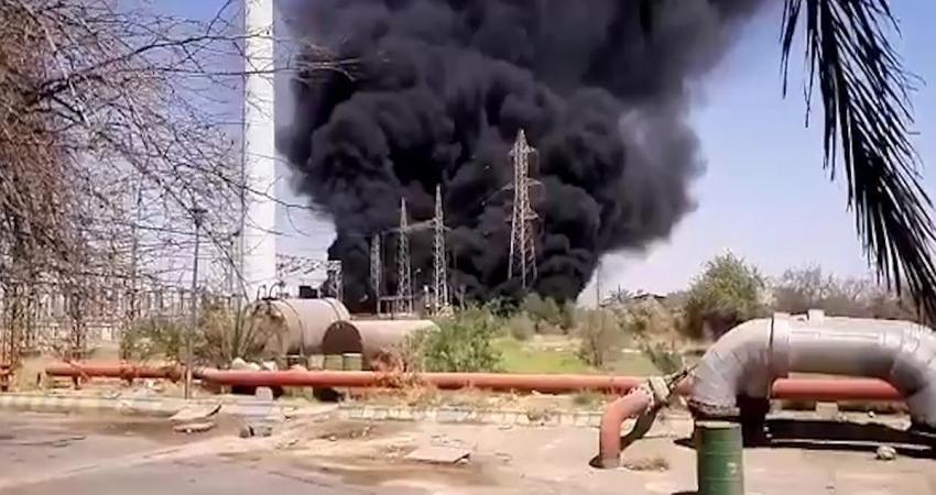 نفجارات محطات الطاقة في إيران