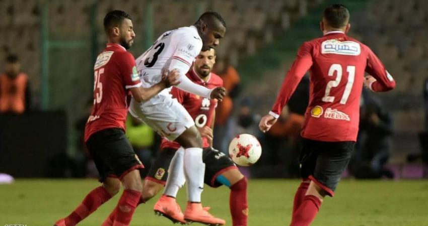 جانب إحدى مباريات الدوري المصري