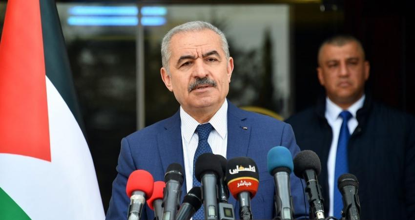 رئيس وزراء حكومة رام الله محمد اشتية