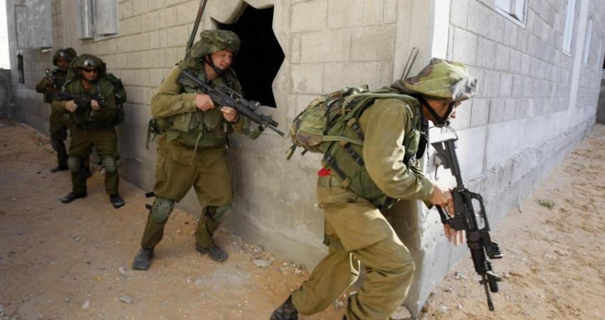 جيش الاحتلال يجري مناورة في غلاف غزة