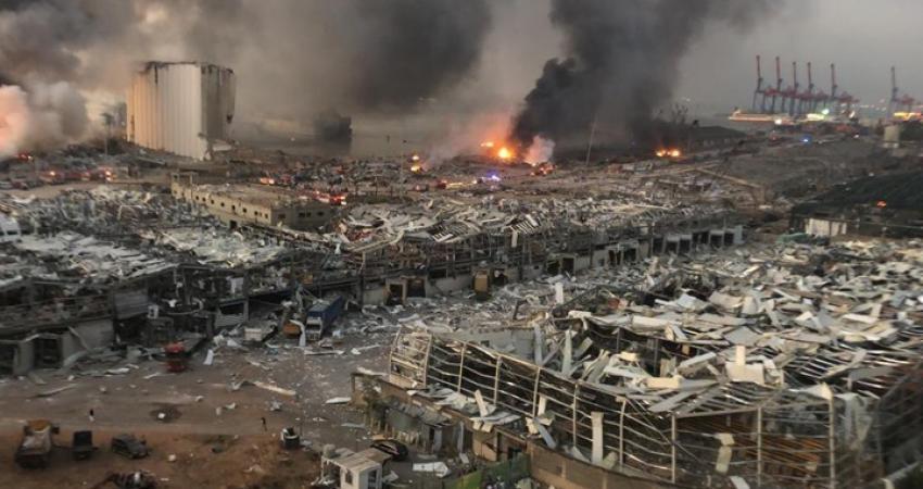 أسفر الانفجار عن وقوع آلاف القتلى والجرحى وأضرار جسيمة بمحيطه