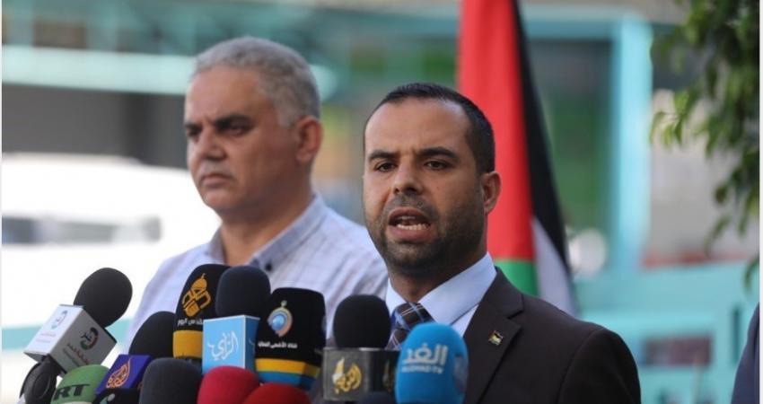 الناطق باسم وزارة الداخلية بغزة إياد البزم