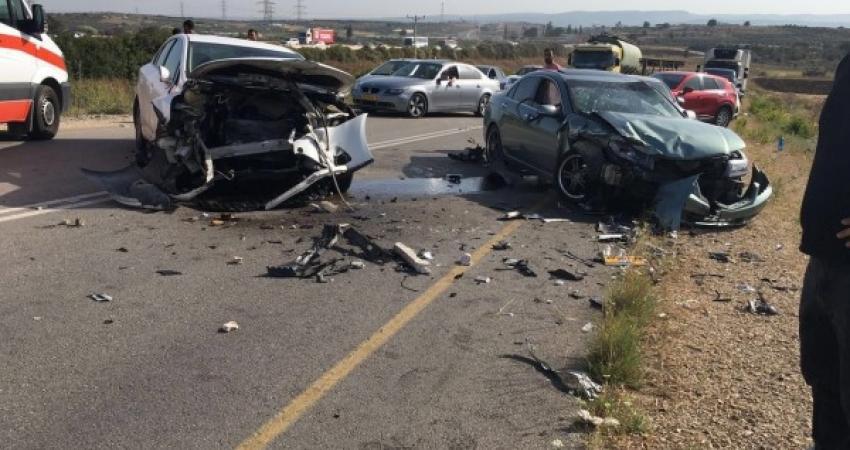 خلال 24 ساعة.. وفاة طفلة و 6 إصابات بحوادث سير في غزة