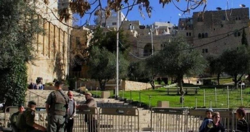 الاحتلال يغلق الحرم الإبراهيمي أمام المصلين بحجة الأعياد