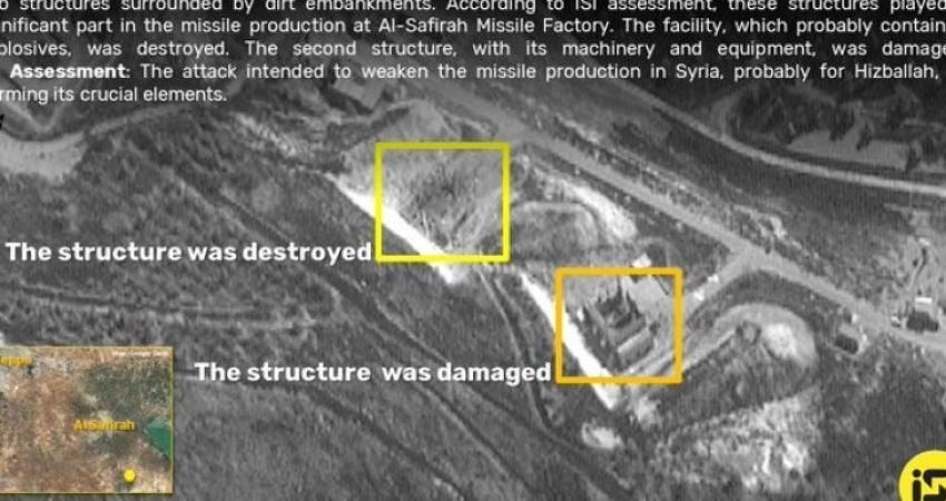 المنشآت التي استهدفتها غارات الاحتلال في سوريا