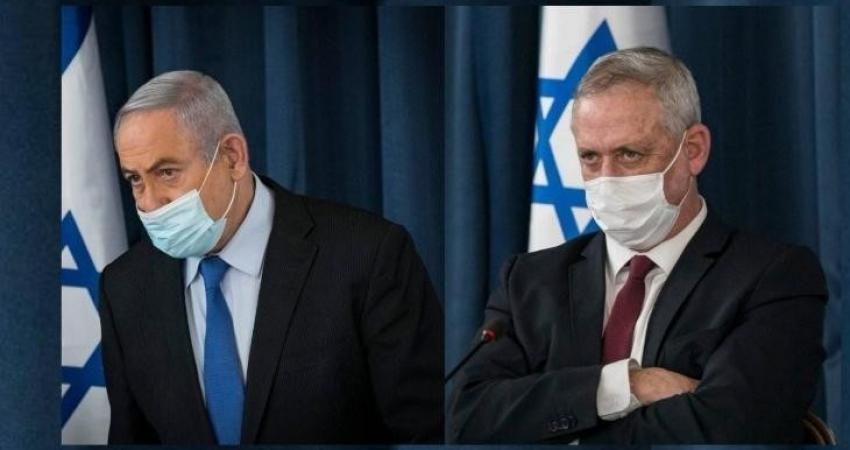 نتنياهو يناقش مع غانتس إمكانية التناوب على رئاسة الوزراء