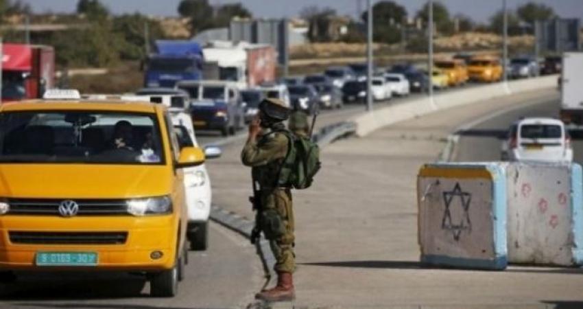 """""""إسرائيل"""" تفرض طوقاً أمنياً على المناطق الفلسطينية بسبب الأعياد"""