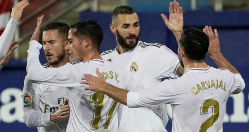 ريال مدريد يستعرض عضلاته برباعية أمام إيبار