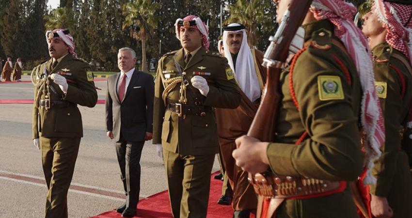 تميم بن حمد وعبدالله