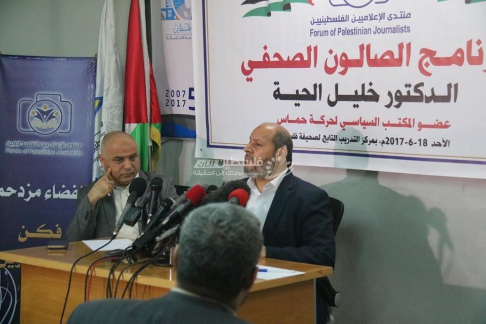 الحية: لن نقف مكتوفي الأيدي تجاه إجراءات عباس