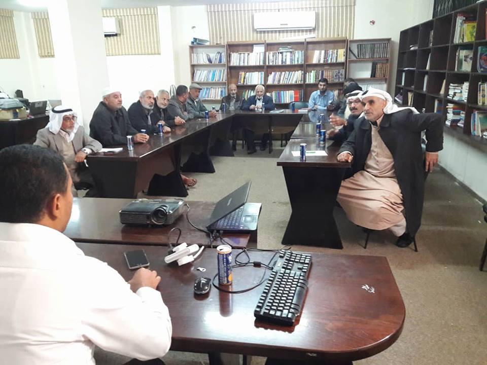 بلدية الزوايدة تنظم لقاء مجتمعي مع سكان القرية