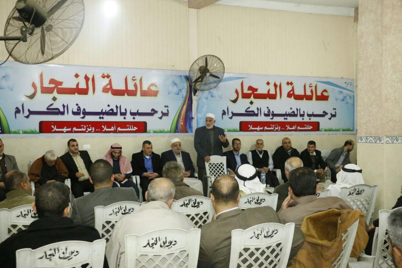 حماس بخانيونس تزور عددًا من دواووين العائلات
