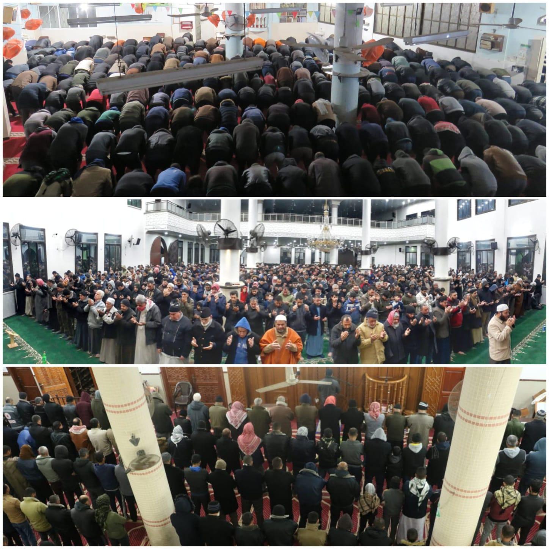 """مساجد غزة تشارك بـ""""حملة الفجر العظيم"""" نصرة للأقصى والإبراهيمي"""
