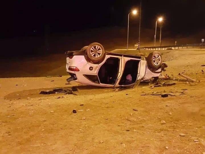 إصابة 7 مواطنين في حادث سير قرب أريحا