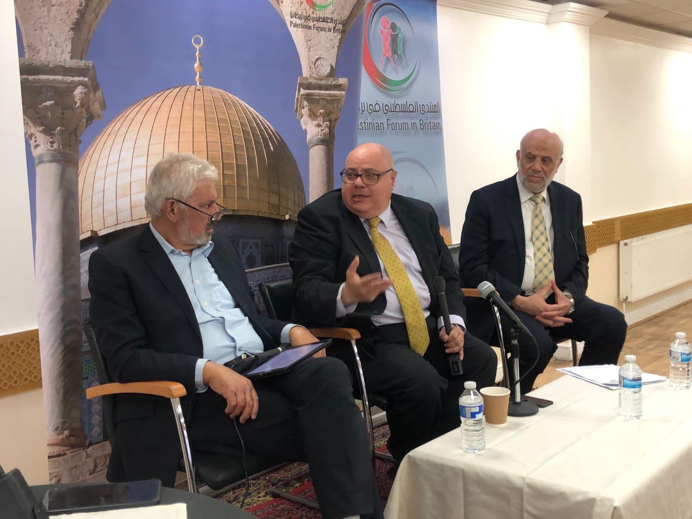 ندوة فلسطينية بلندن: الوحدة الخيار الوحيد لمجابهة صفقة القرن
