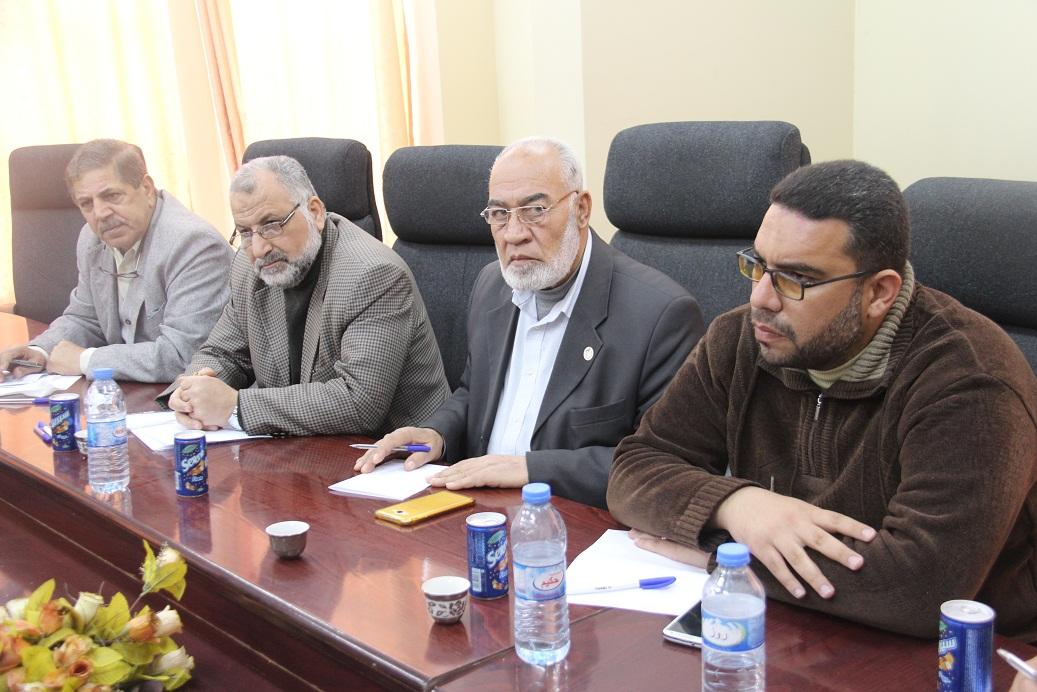 بلدية رفح تنظم لقاء تحضيري لديربي المدينة