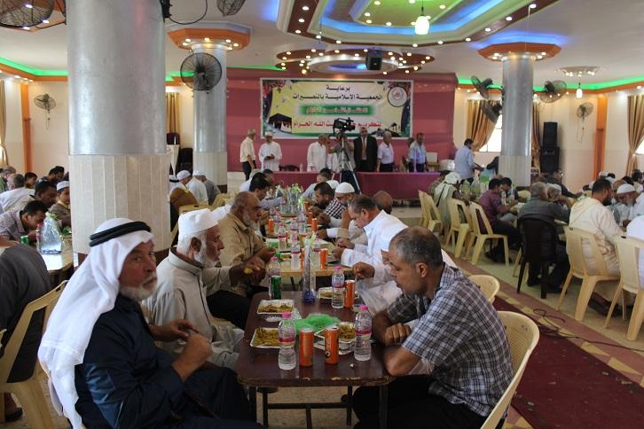 الجمعية الإسلامية تكّرم حجّاج النصيرات