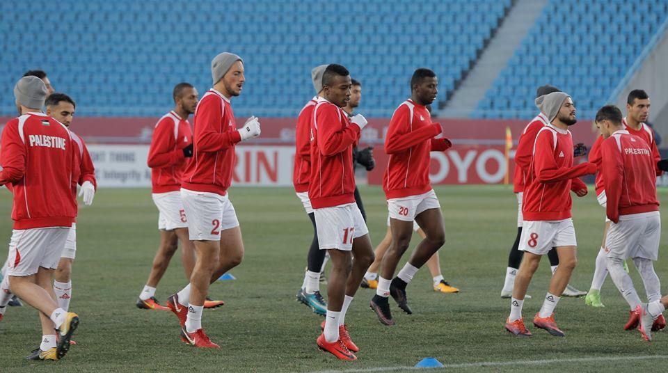 منتخبنا الأولمبي يستعد لمواجهة نظيره التايلاندي