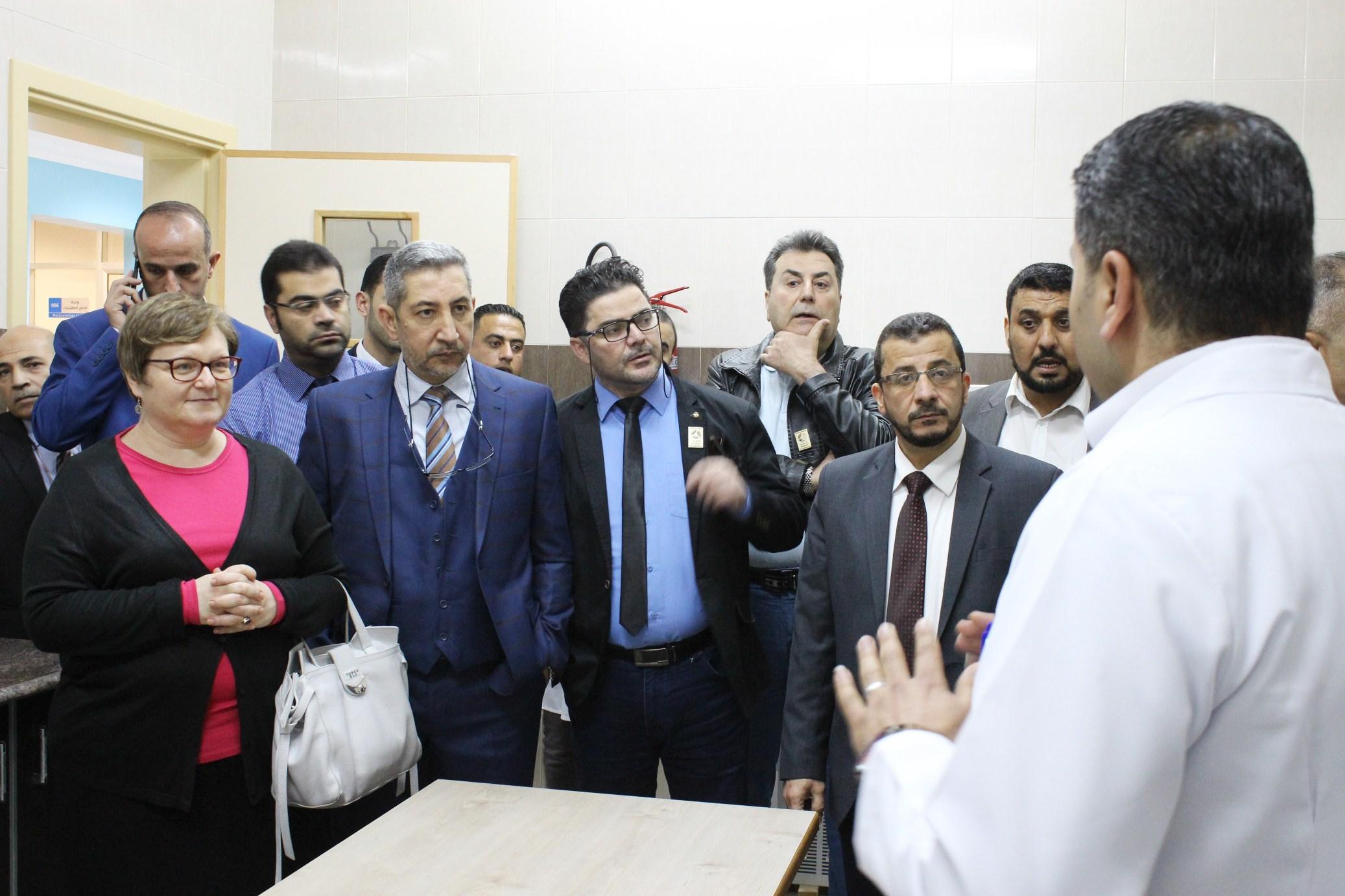 """وفد من الصحة القطرية يصل غزة استعداداً لتشغيل مستشفى """"حمد"""""""