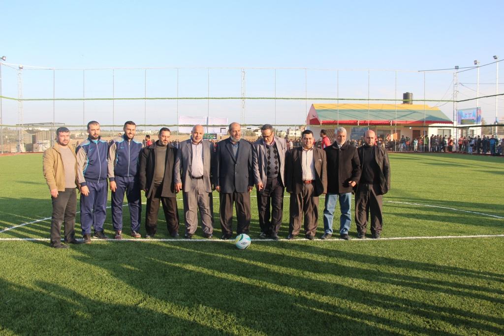 الحية: الرياضة حاضنة للشباب الفلسطيني بجميع أطيافه