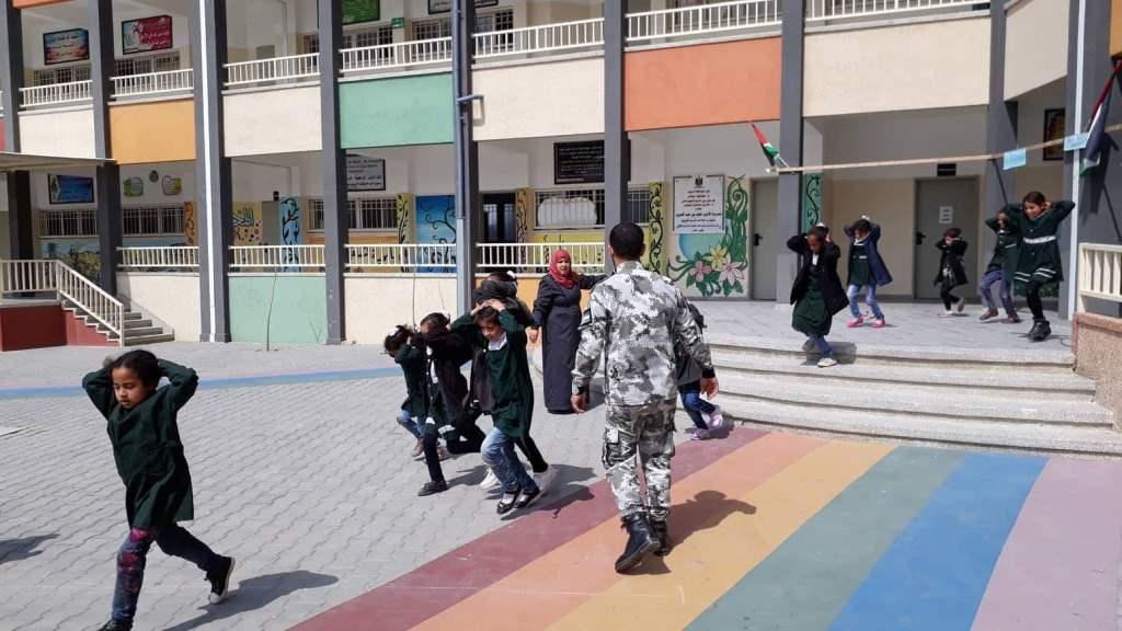 مديرية شمال غزة تفتتح دورة الإخلاء الآمن