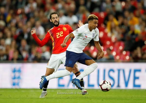 إسبانيا تقلب الطاولة على إنجلترا