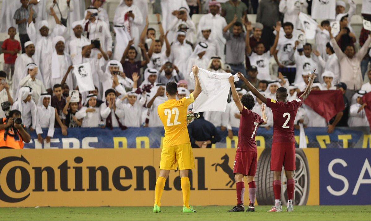 """منتخب قطر يواجه عقوبات قاسية بسبب """"قميص تميم"""""""