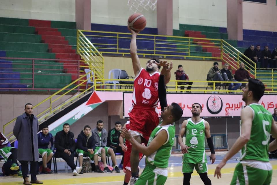 انتصارات لرفح والرياضي ودير البلح بدوري السلة