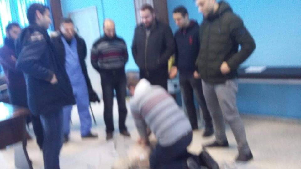 مستشفى الأوروبي بغزة يفتتح دورة في إنعاش القلب المتقدم (ACLS)