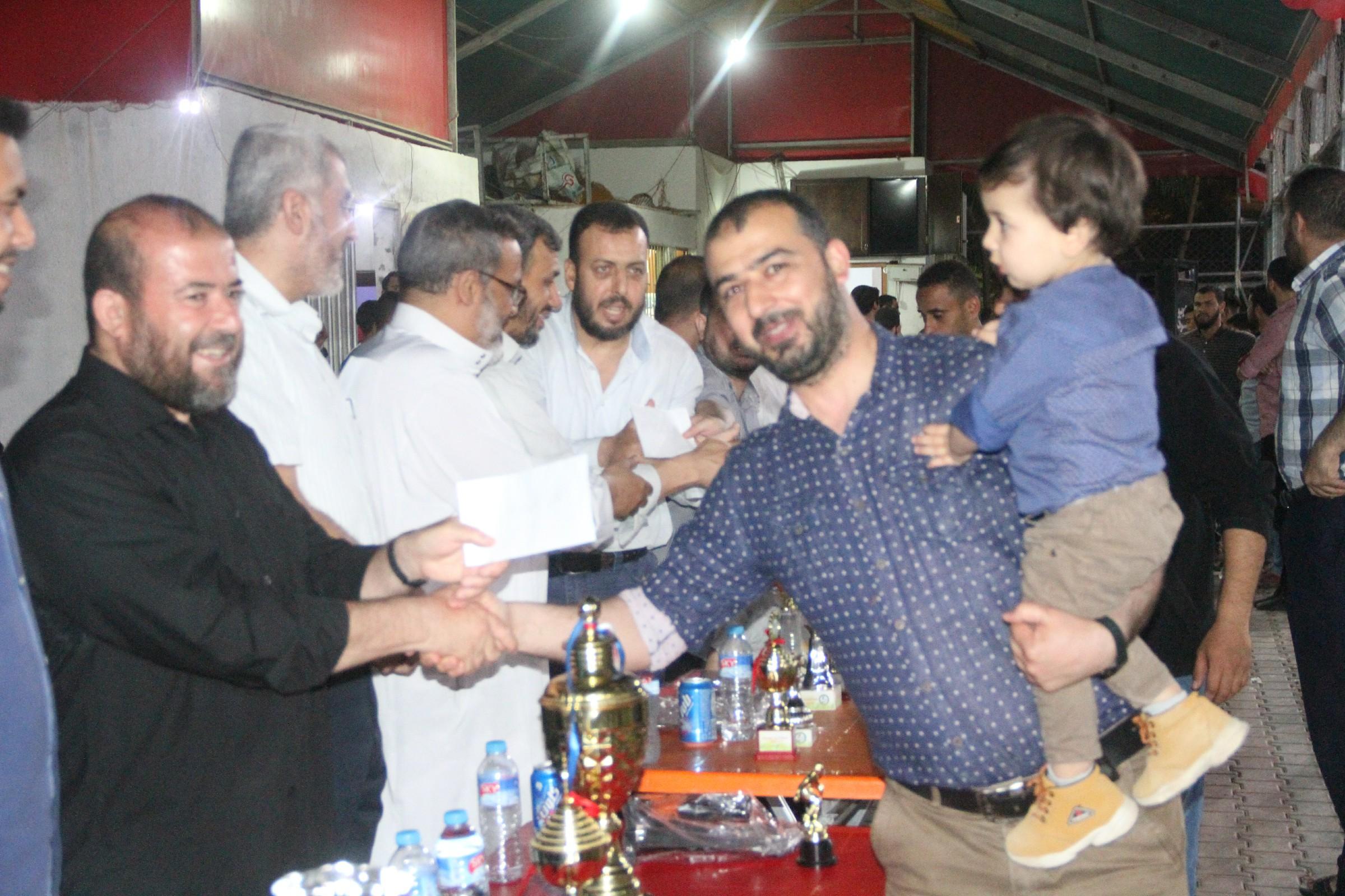 """""""حماس"""" تختتم بطولاتها الرمضانية في مخيم البريج"""