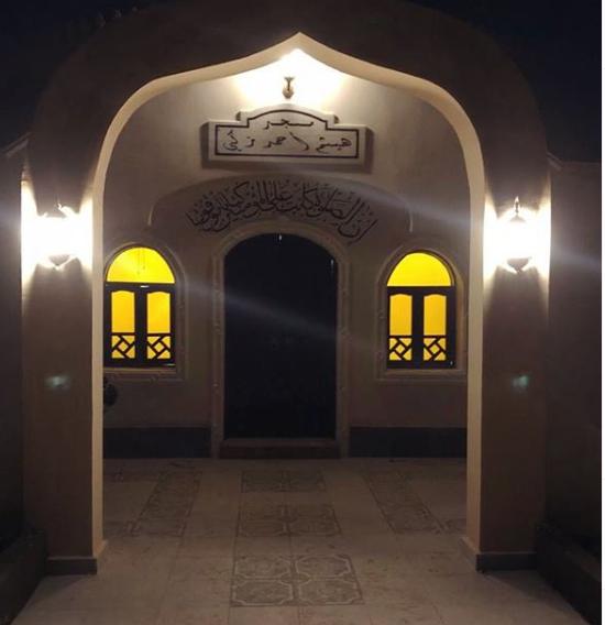 مسجد هيثم أحمد زكى يستعد لإقامة أول صلاة به اليوم